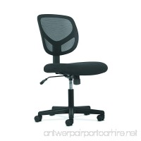 HON Sadie Swivel Mid Back Mesh Task Chair without Arms - Ergonomic Computer/Office Chair (HVST101) - B06Y3XSPBT