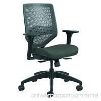 HON SVR1ACLC10TK Solve Series ReActiv Back Task Chair Ink/Charcoal - B01824YYAM