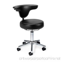 OFM 910-BLACK Anti-Microbial/Bact Anatomy Vinyl Chair  Black - B008Z60R8Q