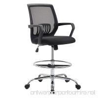 Poly and Bark Gerberding Drafting Chair in Mesh Black - B079P6VFJL