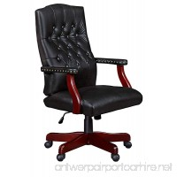 Regency Ivy League Swivel Chair  Black - B0078ZXPLQ
