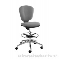 Safco Products 3442GR Metro Extended Height Chair (Additional options sold separately) Gray - B001MS71AG