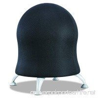Safco Products 4750BL Zenergy Ball Chair  Black - B00934G9RW