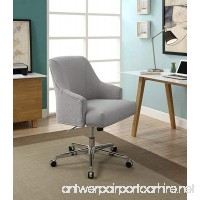 Serta Leighton Home Office Chair Light Gray - B06W9LFDSW