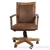 Sunny Designs 2961RO Office Chair with Arm - B00OV0OXK8