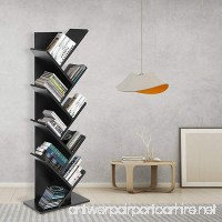 9 Shelf Tree Shaped Book Case Book Shelf Book Rack Display Storage Organizer Freestanding Bookshelves For CDs Movies & Books - B07D7LQQGQ