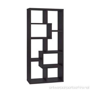 Coaster Cappuccino Modular Bookcase - B003TPG9NU