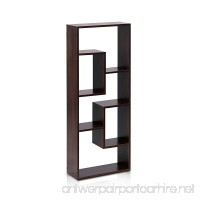 Furinno FNAJ-11033 Boyate Five Wall Mounted Shelf  Walnut - B00EHK6AT4