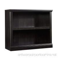 Sauder 414237 Select 2-Shelf Bookcase Estate Black Finish - B00AHPRMH2