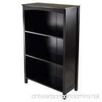 Winsome Terrace Storage Shelf 4-Tier in Espresso Finish - B0094G35XA