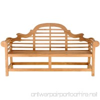 CHIC TEAK Teak Lutyens Double Bench made - B01N56PLPT
