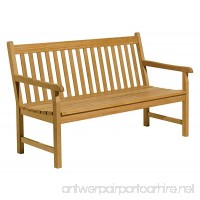 Oxford Garden Classic 5-Foot Shorea Bench - B00004S9JF
