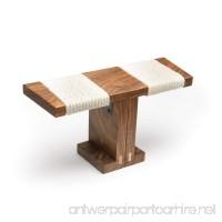 Ronin Meditation Bench (Portable Folding Walnut) - B004SAU63O