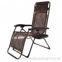 Le Papillon Zero Gravity Chair Adjustable Reclining Chair Patio Lounge Chair - B071WWDZ7N