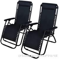 Sale Outdoor 2 New Zero Gravity Set Lounge Chair Beach Patio Furniture Pool Yard Folding Recliner RF39 Clearance DIscount - B01E88BCDI