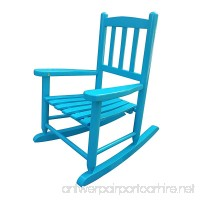 Rockingrocker - K031BU Blue Child's Rocking Chair/porch Rocker - Indoor or Outdoor - Suitable For 1-4 Years Old - B07CCZLKMJ