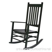 Shine Company 4332DG Vermont Rocking Chair Dark Green - B079XZBWLS