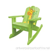 Summer Sale - Lovely Green Giraffe Rocking Chair/ 2-in-1 Chair 20611 for Kids 2~6 years - B00GU5BGZC