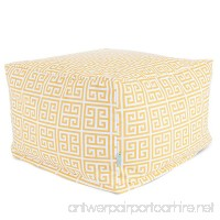 Majestic Home Goods Towers Ottoman Large Citrus - B00DJWD5L2