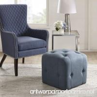 Marion Cube Ottoman Blue See below - B074KPVX73