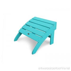 Trex Outdoor Furniture Cape Cod Ottoman in Aruba - B0756YPDLC