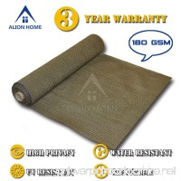Alion Home HDPE Shade Fabric Cloth 95% UV Block. (4'x 50') (Mocha Brown) - B01HQT5YBM