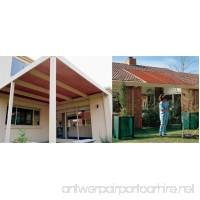 Coolaroo Medium Shade Fabric 6ft by 15ft Terracotta - B000P7FW38