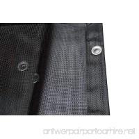 Joryn Mesh Tarp 10x10ft Shade Cloth Net Tarps - B06XHY23LC