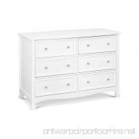 DaVinci Kalani 6 Drawer Double Wide Dresser White - B07DXCFD22