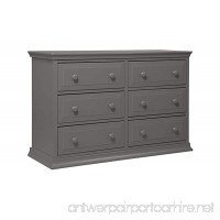 DaVinci Signature 6-Drawer Double Dresser Slate - B00PGP5YCI