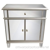 Décor Therapy FR1792 Fr1792 Chest 16 W X 32 D X 32 H Silver - B0176S8OTM