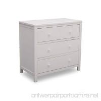 Delta Children Wood 3 Drawer Dresser Bianca White - B071H75SRS
