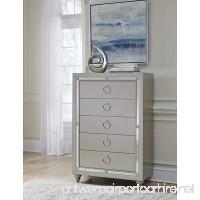 Global Furniture RILEY (1621) CHEST Silver - B077Y3FY6C