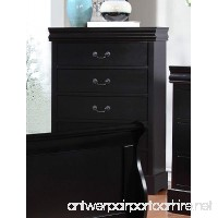 Major-Q Sh52318ch Antique Black Finish Dresser for Bedroom - B07BF7LLPQ