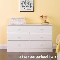 Prepac Astrid 6 Drawer Dresser White - B01BGEUDB4