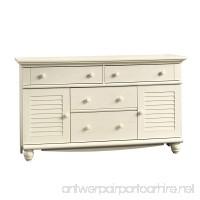 Sauder Harbor View Dresser Antiqued White - B001E87XWK