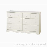 South Shore Furniture Summer Breeze Bedroom Collection  6 Drawer Dresser  Vanilla Cream - B001IWO77Q