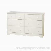 South Shore Furniture Summer Breeze Bedroom Collection 6 Drawer Dresser Vanilla Cream - B001IWO77Q
