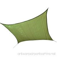 ShelterLogic Square Shade Sail  Lime Green  16 x 16 ft. - B00HF4CYSA