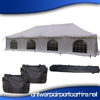 40'x20' PVC Pole Tent - Heavy Duty Party Wedding Canopy Shelter - With Storage Bags - By DELTA Canopies - B00BZULMLK