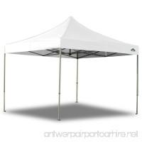 Caravan Canopy 10 X 10 Foot Straight Leg Display Shade Commercial Canopy White - B002XDV7S6