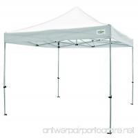 Caravan Canopy Titanshade 10 X 10 Foot Straight Leg Canopy  White - B0072BVOL4