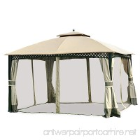 Garden Winds Replacement Canopy for the Windsor Dome Gazebo - 350 - B07476DCFK