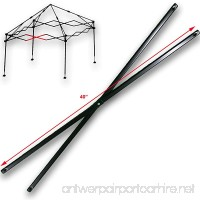 """Ozark Trail First Up 10 X 10 Canopy MIDDLE TRUSS BAR 40"""" Replacement Parts - B078JVCNHK"""