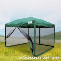 Quictent Ez Pop up Canopy with Netting Screen House Tent Mesh Side Wall-3 Colors 4 Sizes - B06W9NG9SN