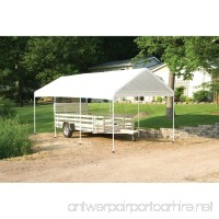 ShelterLogic MaxAP Compact Canopy  White  10 x 20 ft. - B001G7Q1WC