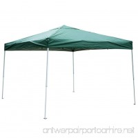 Sundale Outdoor UV-Protected Iron Outdoor Folding Canopy Instant Shelter Foldable Tent Patio Green - B01CJL6VTG