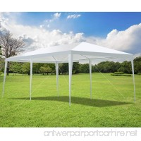 TANGKULA 10'X20' Portable Canopy Tent Wedding Party Tent Outdoor All-Purpose Weather Resistance Garden Tent Instant Shelter White - B07DWMZS74