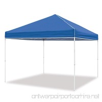 Z-Shade 10 x 10 Foot Everest Instant Canopy Outdoor Camping Patio Shelter Blue - B079SHZL3X