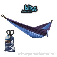 Bliss Hammocks - To Go Hammock in a Bag - Portable Hammock Ideal For Camping Backpacking Kayaking & Travel Blue - B07DD1BG7N